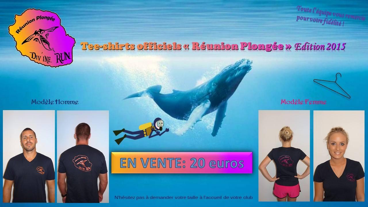 Tee-shirt Réunion Plongée