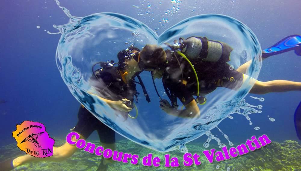 Promo St Valentin Réunion Plongée St LEU