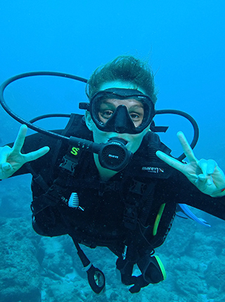 plongeuse mares